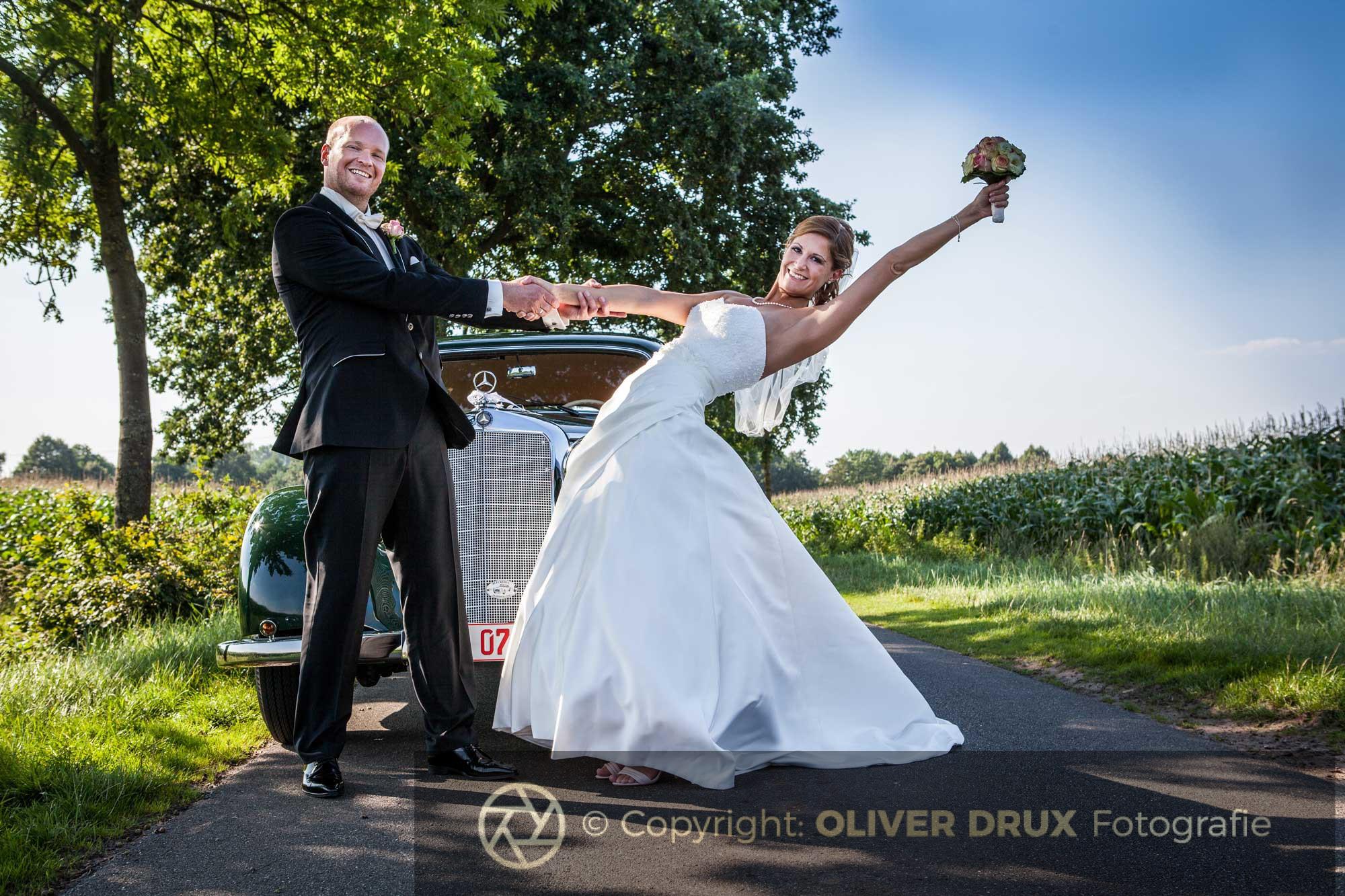 Hochzeitsshooting in der allee