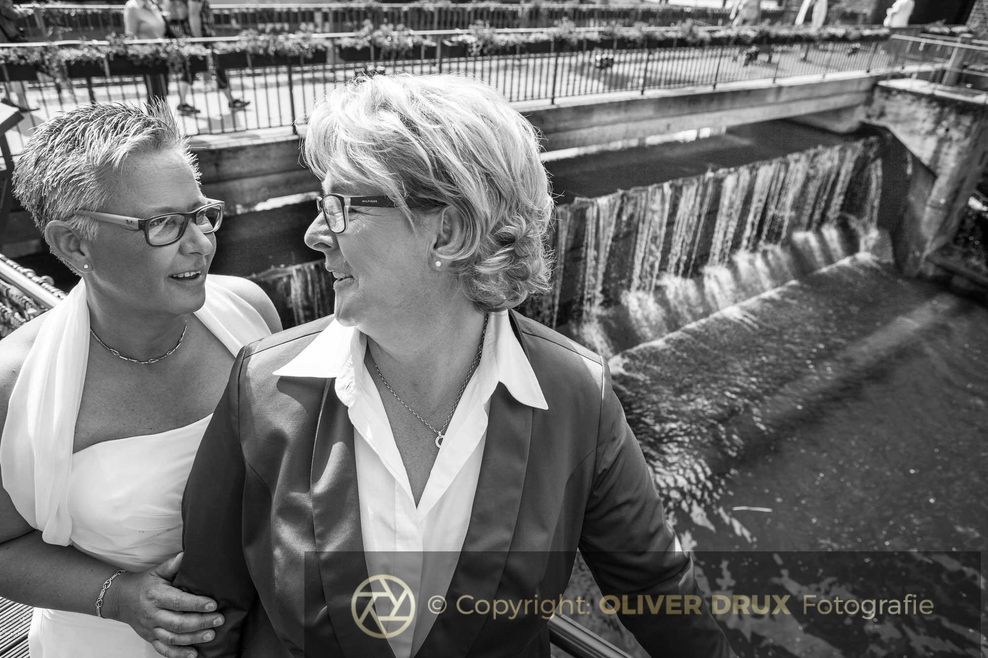 Die Hochzeit von Angela und Tine in, Lüneburg
