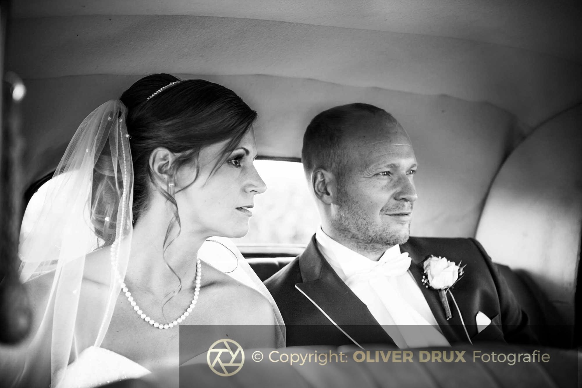 Hochzeit in Schwarzweiss