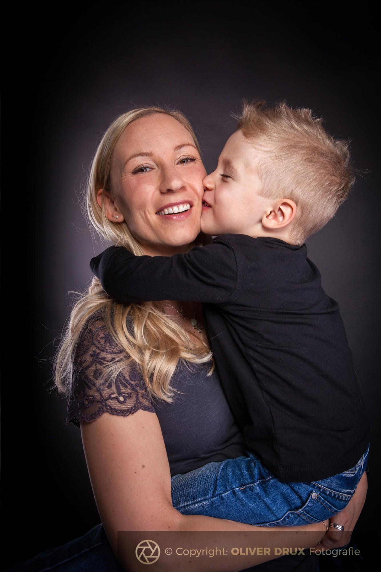 Mutter-mit-Sohn