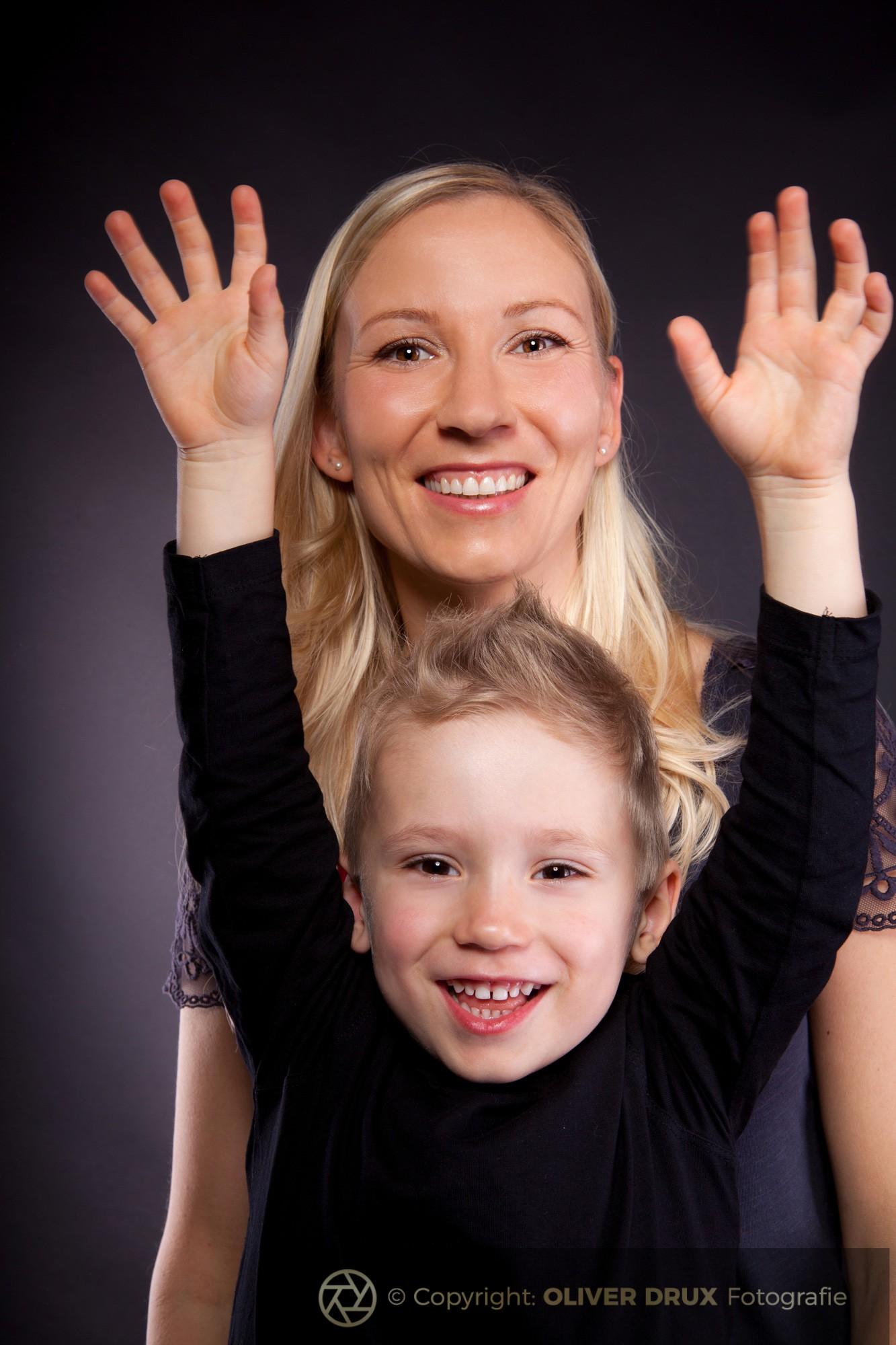 Mutter-und-Sohn-Portrait